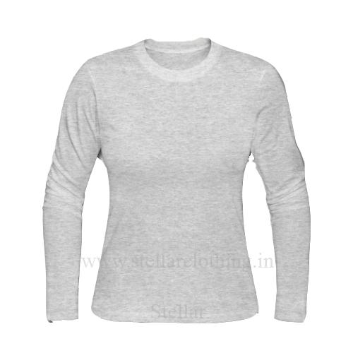 Grey Milange Back 1