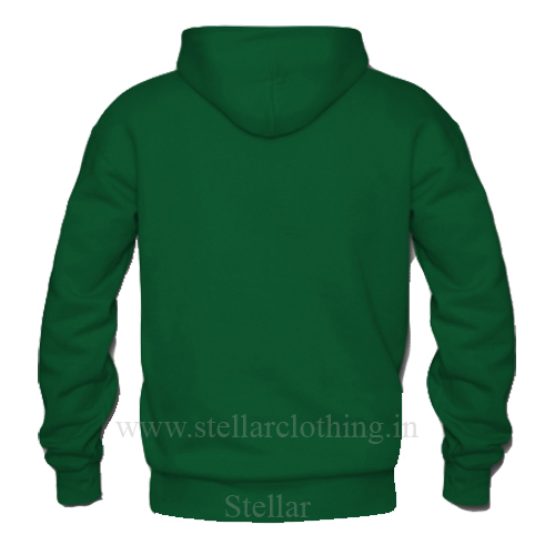 Hooded Green BACK