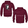 Hooded Maroon Wayne 2