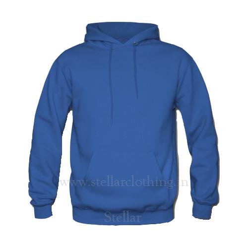 Hooded Royal Blue