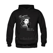 Men Hooded Printed Sweatshirt