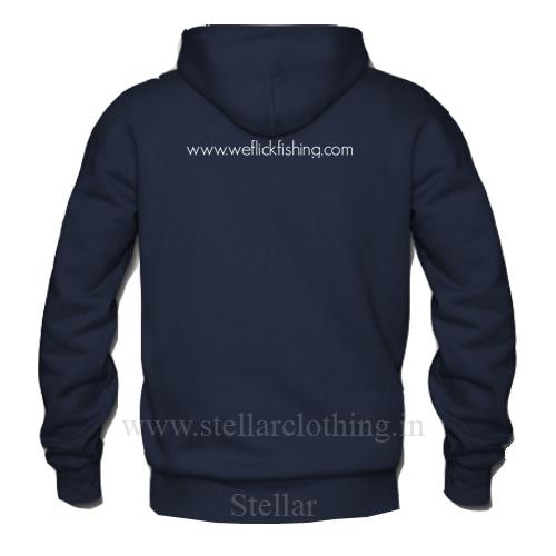 Hooded navy Weflick