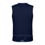 Men's  Navy LS Back