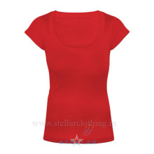 Red Scoop Neck 1