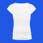 White Scoop neck 1