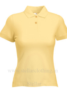 Women's Polo Lite yellow