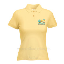 Women's Polo Lite yellow Ali