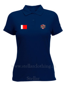 Women's Polo Securty navy