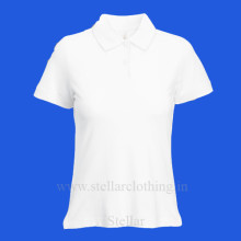 Women's Polo White