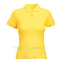 Women's Polo Yellow