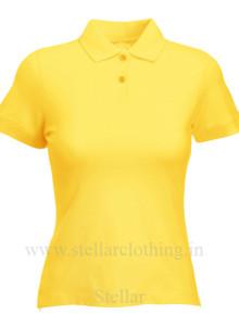 Women's Polo Yellow