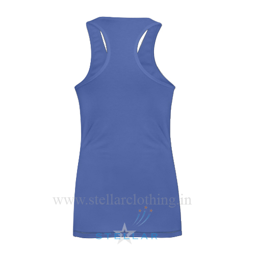 Women's Royal Singlet Back