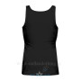 Women's Tank Top Black Back