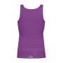 Women's Tank Top Purple Back