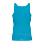 Women's Tank Top Turquise Back