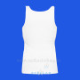 Women's Tank Top White Back