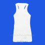 Women's White Singlet Back