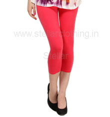 Juliet-Solid-Red-Leggings