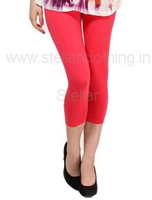 Juliet-Solid-Red-Leggings