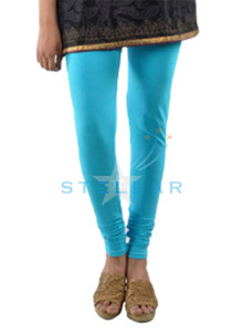 Stellar Awesome Light Turquoise Leggings