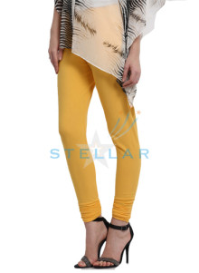 Stellar Awesome Yellow Mix Leggings