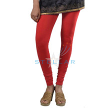 Stellar Solid Red Leggings