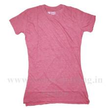 65% Polyester 35% Cotton Plain T-Shirt