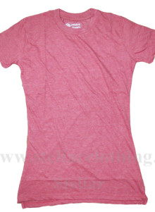 65% Polyester 35% Cotton Plain T-Shirt