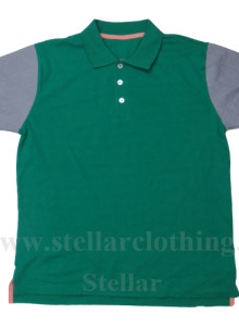 Cut and Sew Polo T-Shirt