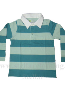 Kids Full Sleeve Polo T-Shirt