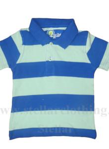 Yarn Dyed Polo T-Shirt