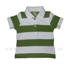100% Cotton Yarn Dyed Polo T-Shirt