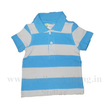 Kids Promotional Stripped Polo T-Shirt