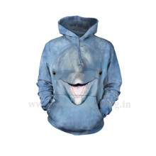3d Printed Hooded Sweatshirt