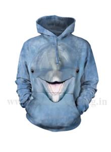 3d Printed Hooded Sweatshirt